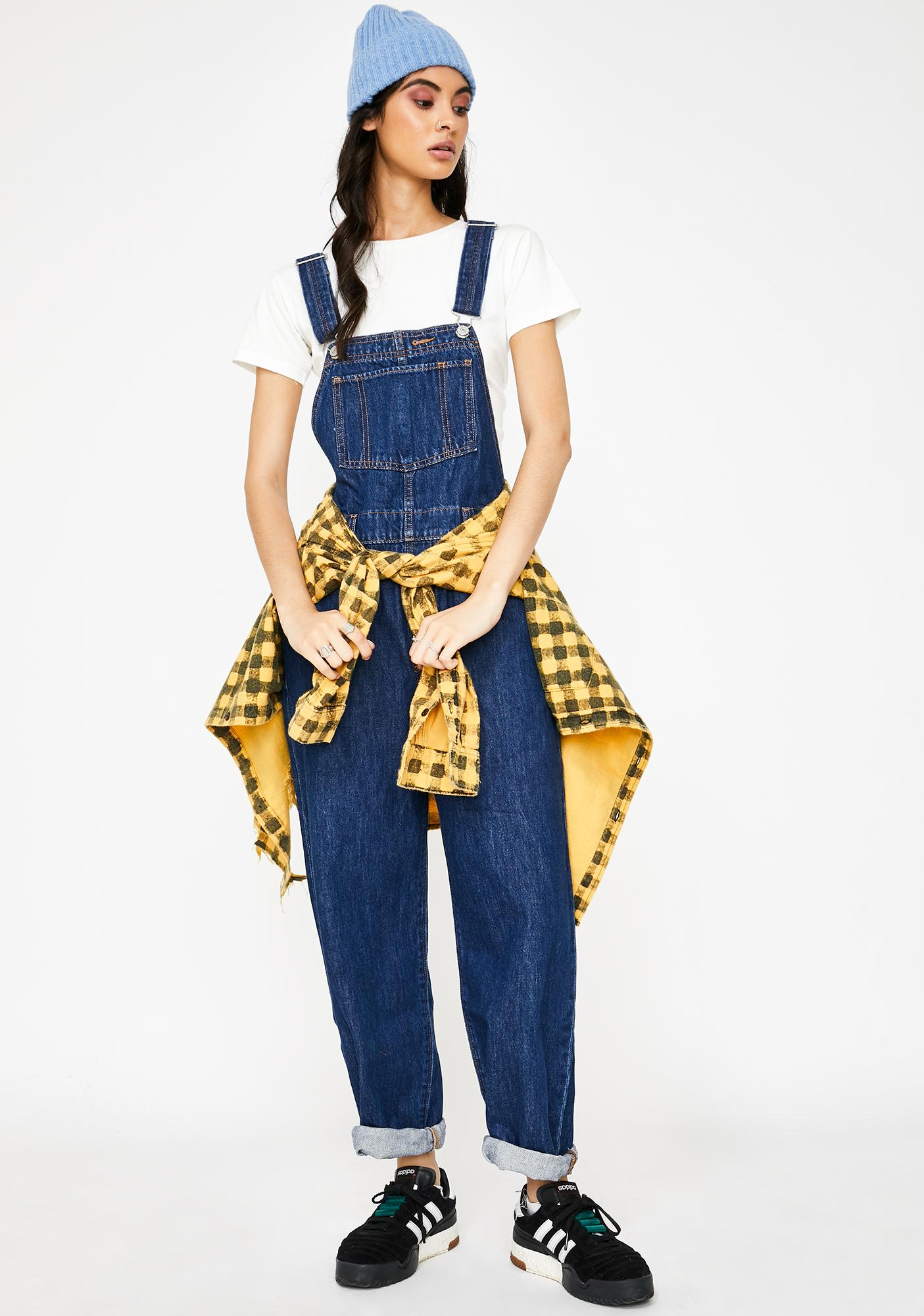 Levis Cut Loose Baggy Overalls