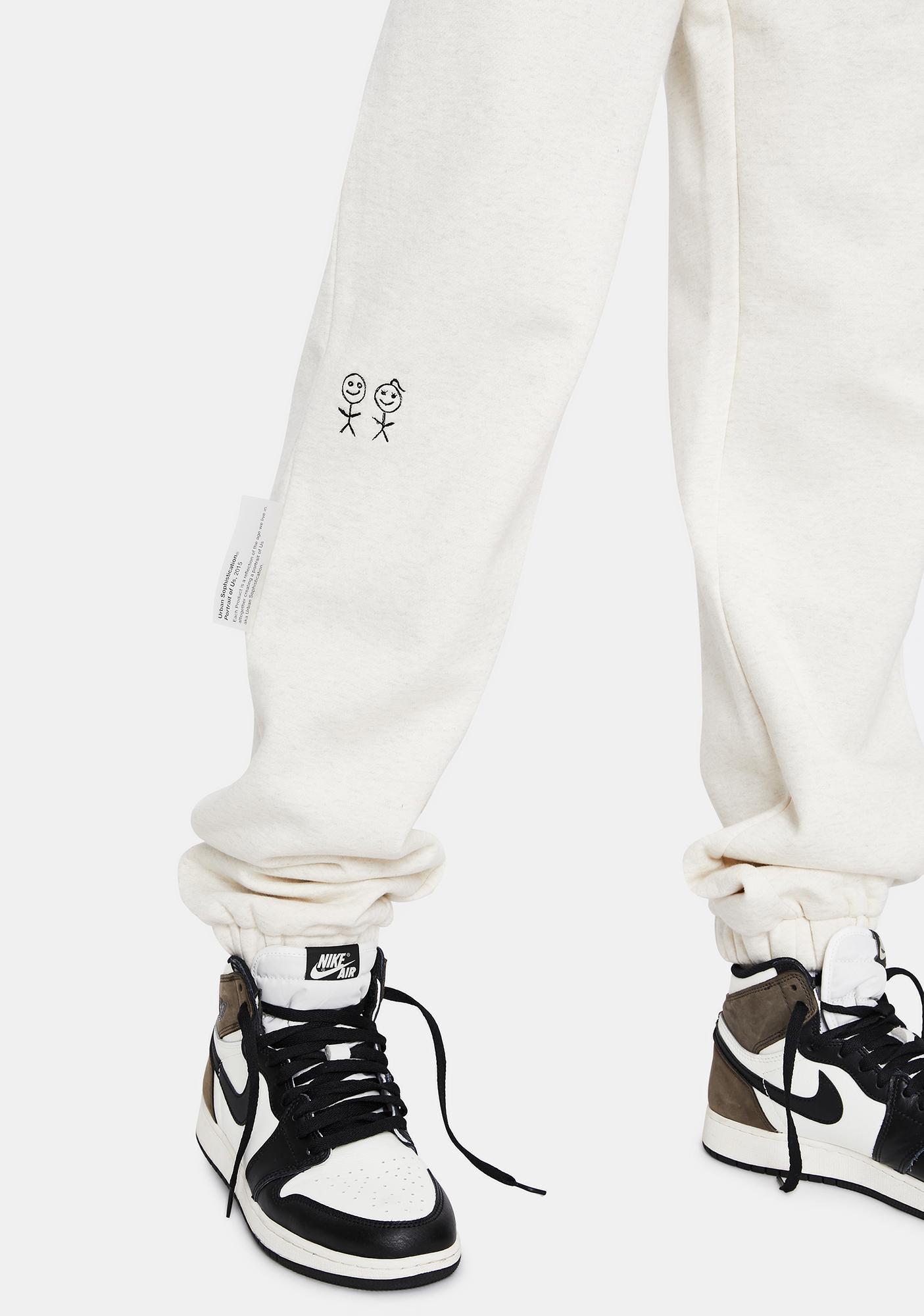 Urban Sophistication US Plus Fleece Sweatpants
