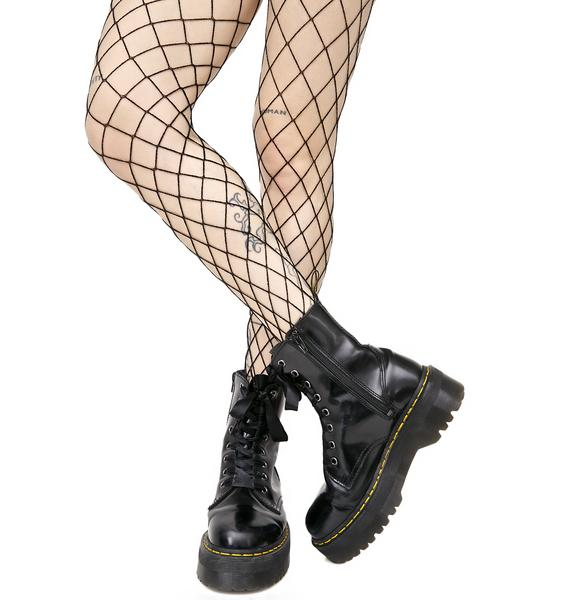 Diamond Doll Fishnet Stockings