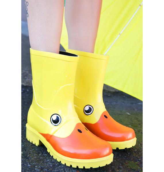 Juju Shoes Duck, Duck Rain Boots