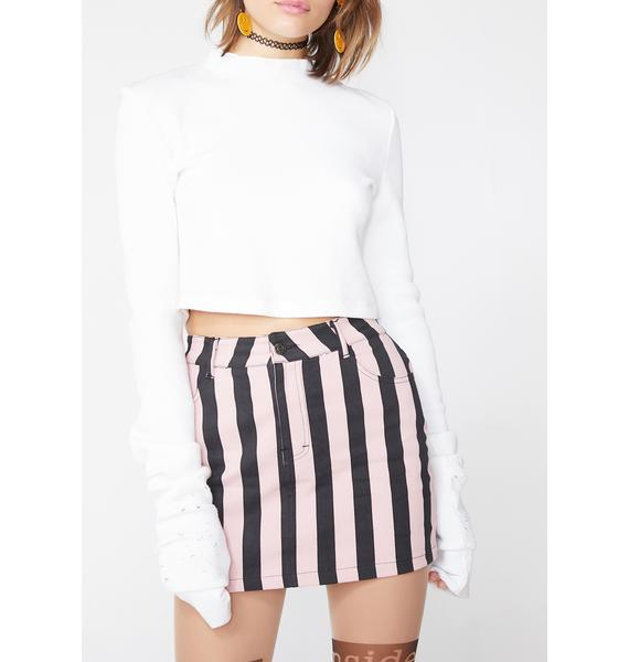 Motel Sweet Mini Broomy Skirt