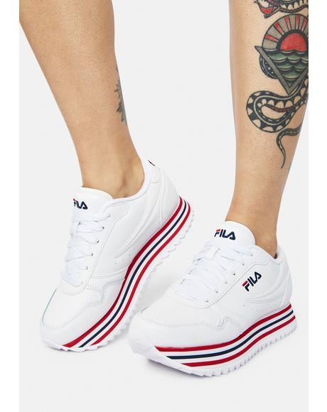 Orbit Stripe Sneakers
