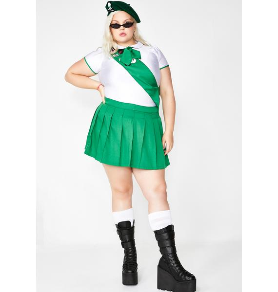 Dolls Kill Catch Hell Scout Costume