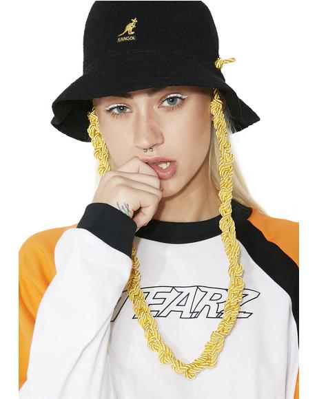 Knit Chain Casual Hat
