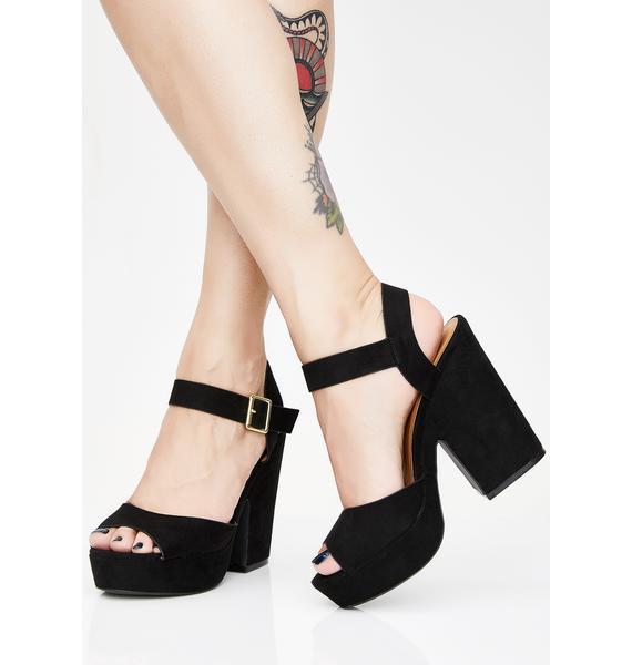 Babe Odyssey Chunky Heels
