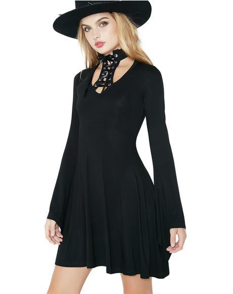 Spyda Lace-Me-Up Dress