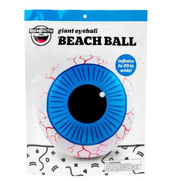Eye Got My Eye On U Beach Ball