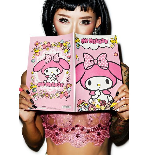 Sanrio My Melody Notebook