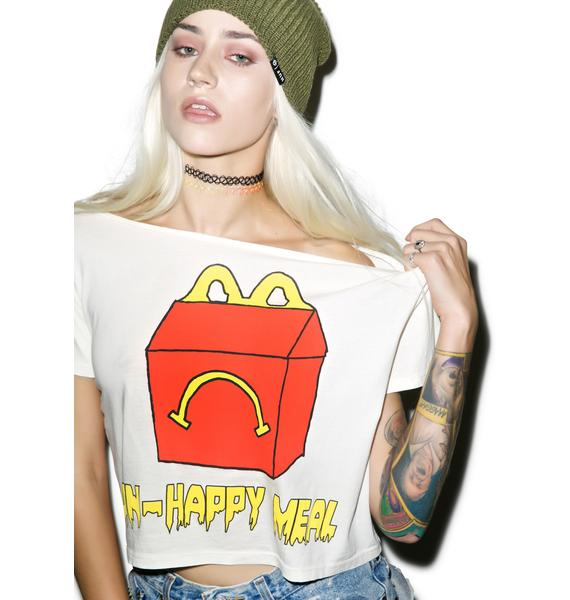 Hips and Hair Unhappy Meal Cropped Tee