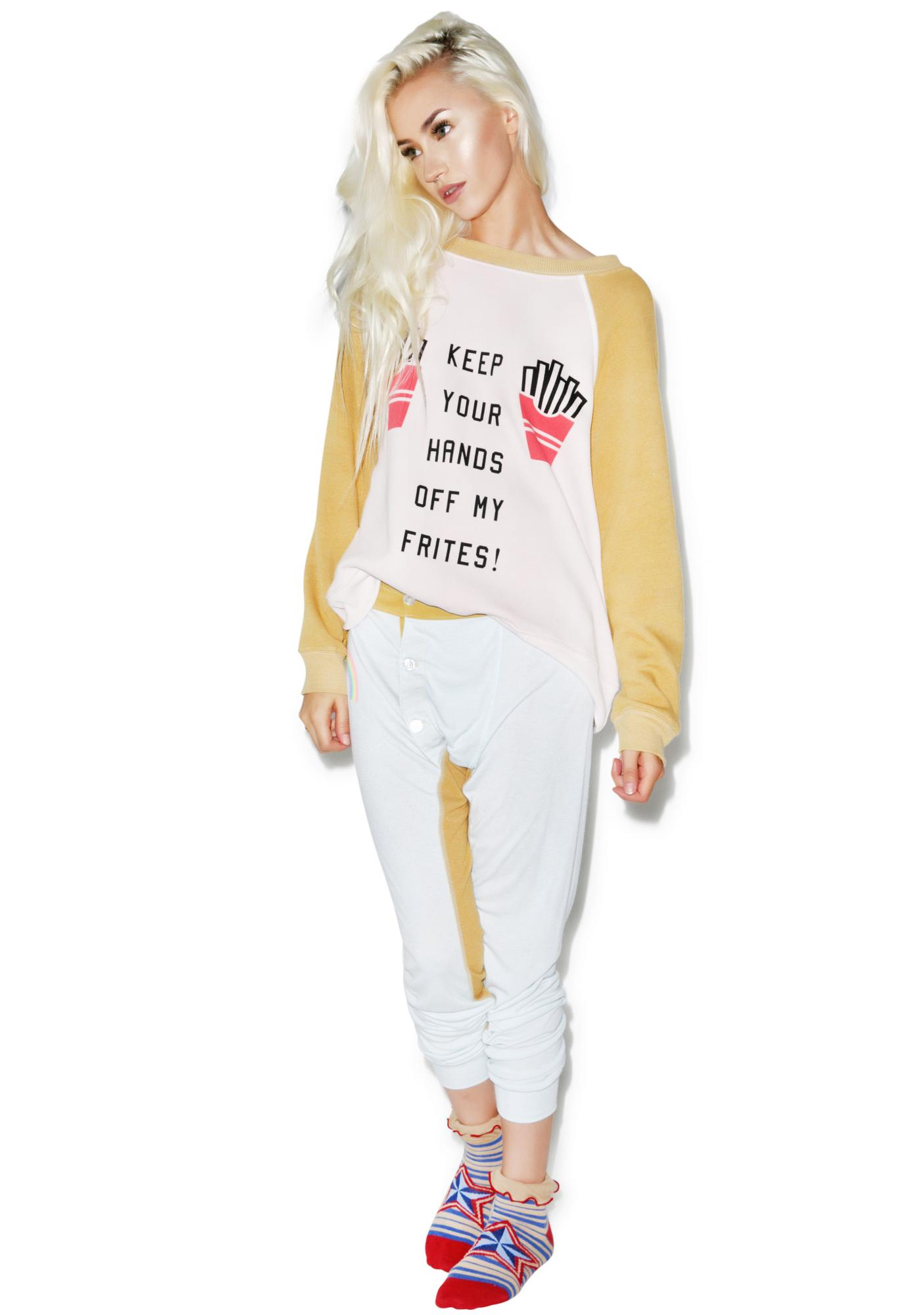 Wildfox Couture Off My Frites! Kim's Sweater