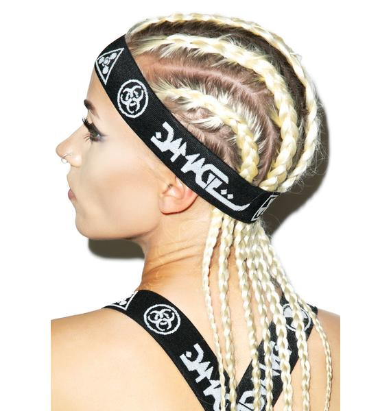 DAMAGE Logo Headband