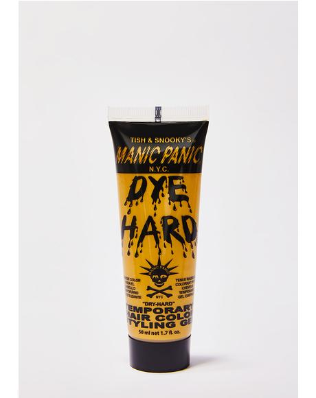 Glam Gold Dye Hard Styling Gel