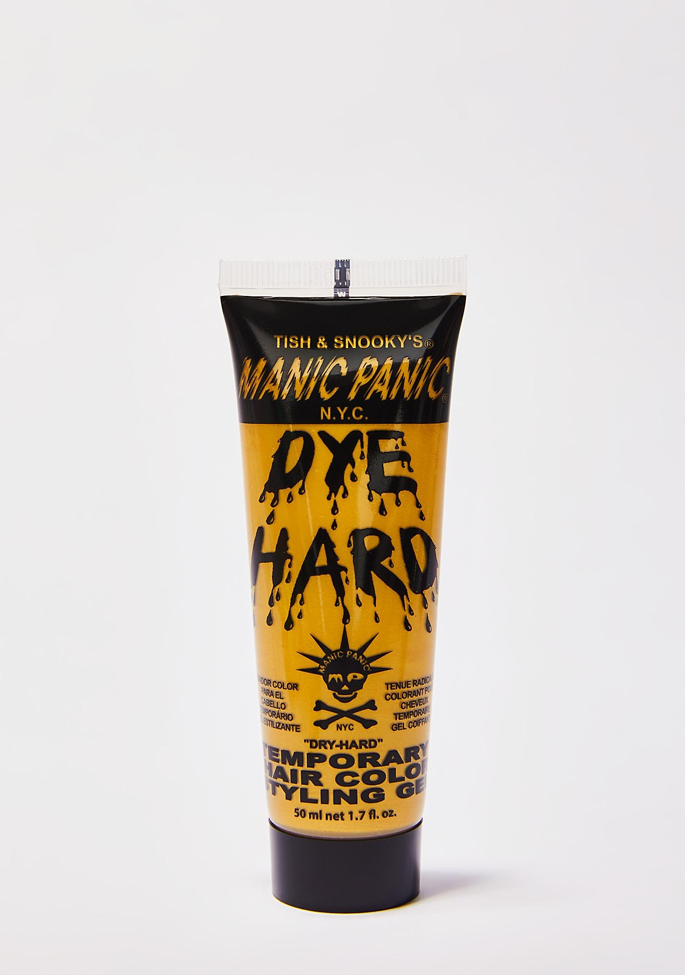 Manic Panic Glam Gold Dye Hard Styling Gel
