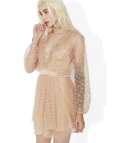 All That Glitters Mini Dress