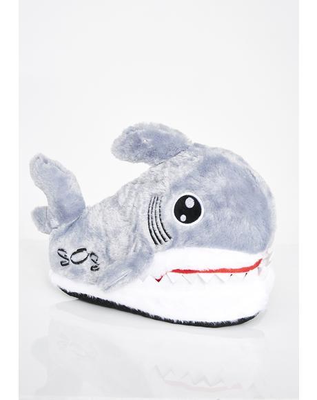Sink Ya Teeth Shark Slippers