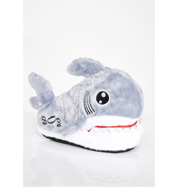 Sink Ya Teeth Shark Slippers