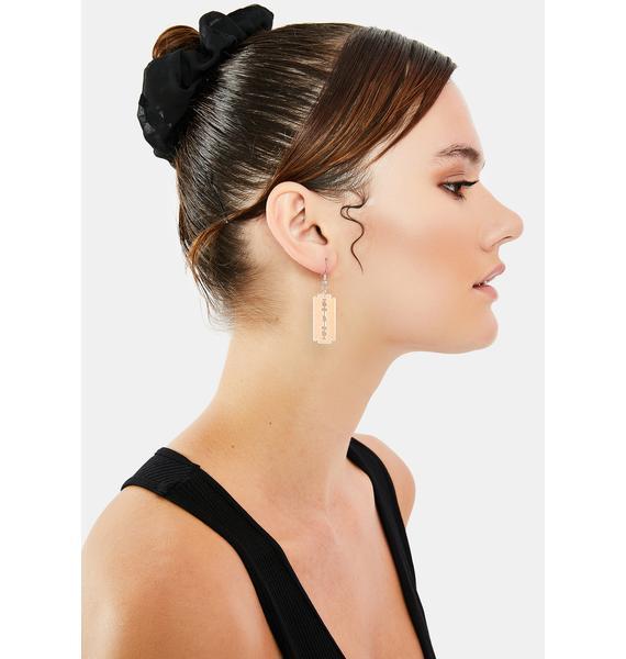 Deadly Blow Drop Earrings