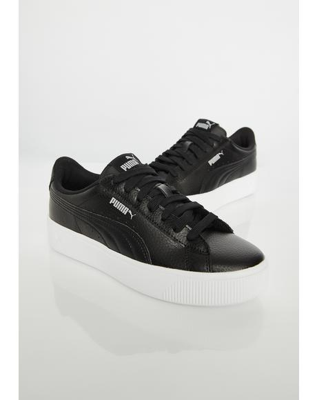 Dark Vikky Stacked Sneakers