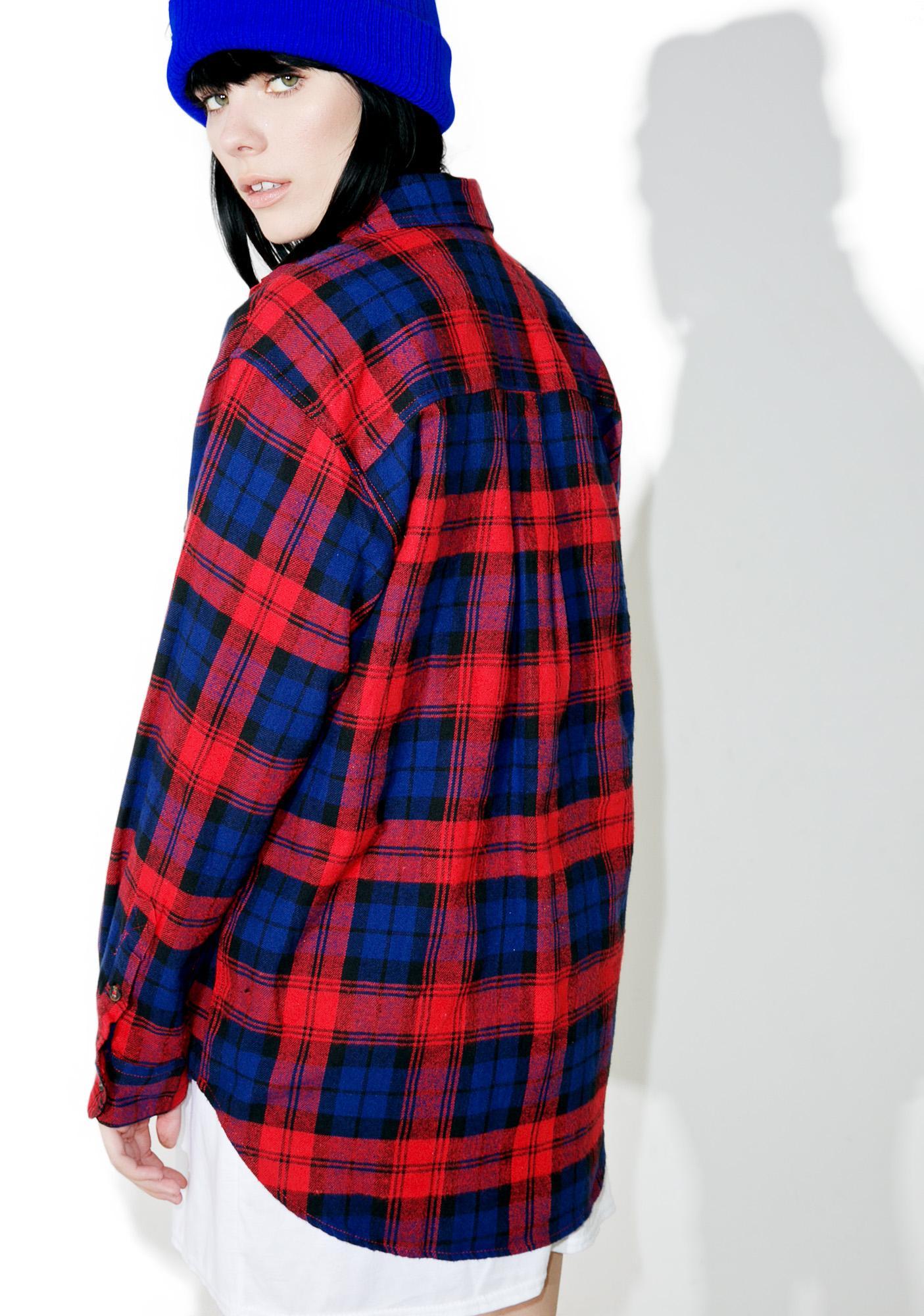 Polly Plaid Shirt