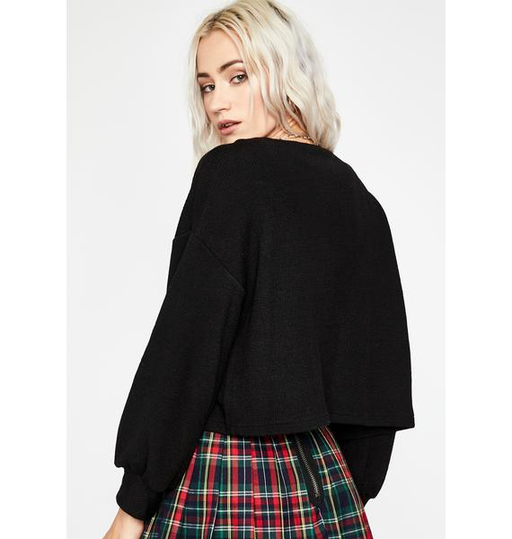 Prep Girl Cropped Cardigan