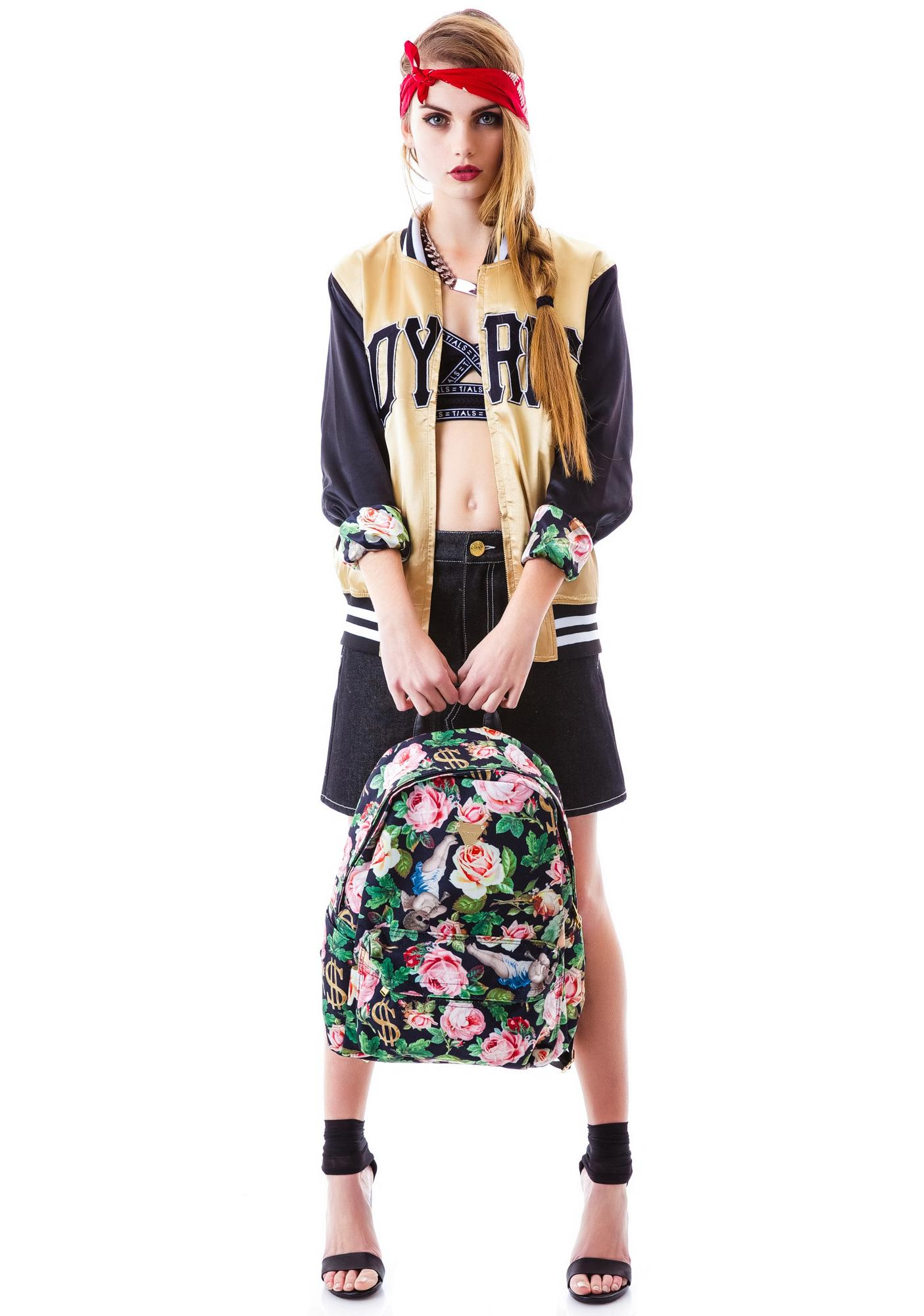 Joyrich Angelic Rich Floral Backpack