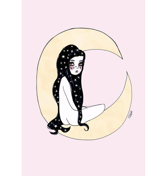 Valfré Luna Art Print