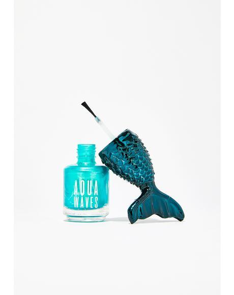 Mermazing Aqua Waves Nail Polish