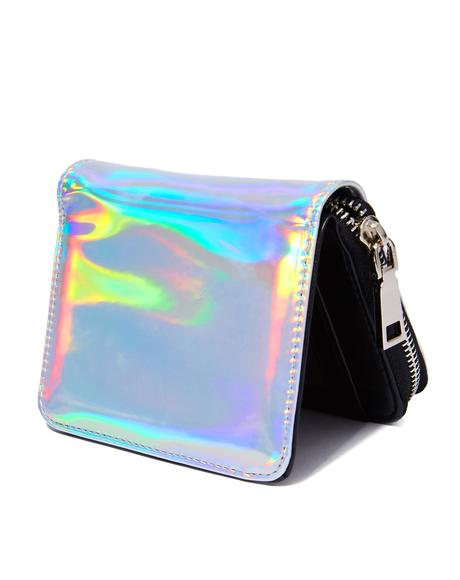 Hollyweird Hologram Mini Wallet