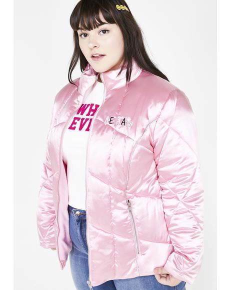 Extra Sass Invader Puffer Jacket