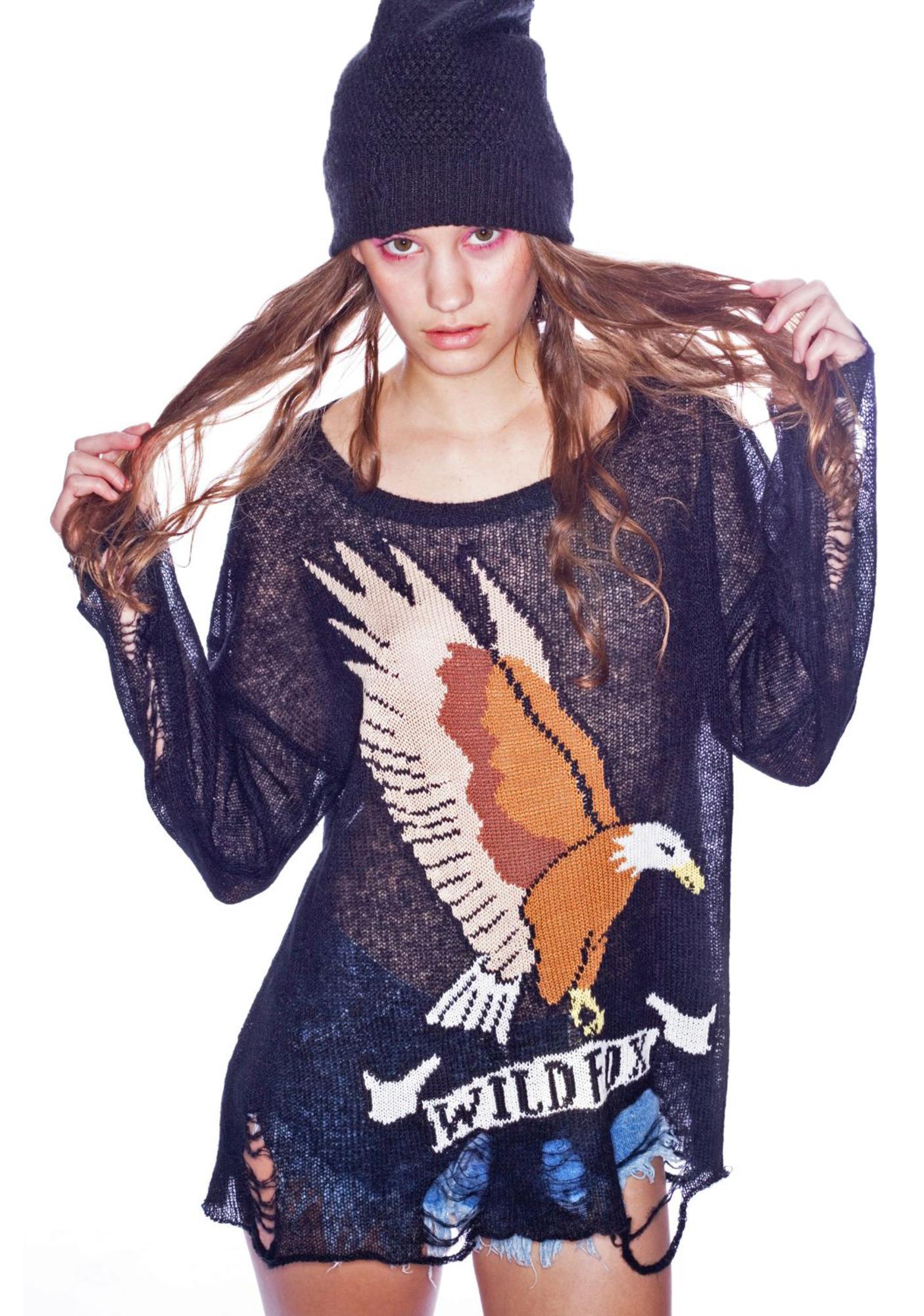 Wildfox Couture Eagle Lennon Sweater