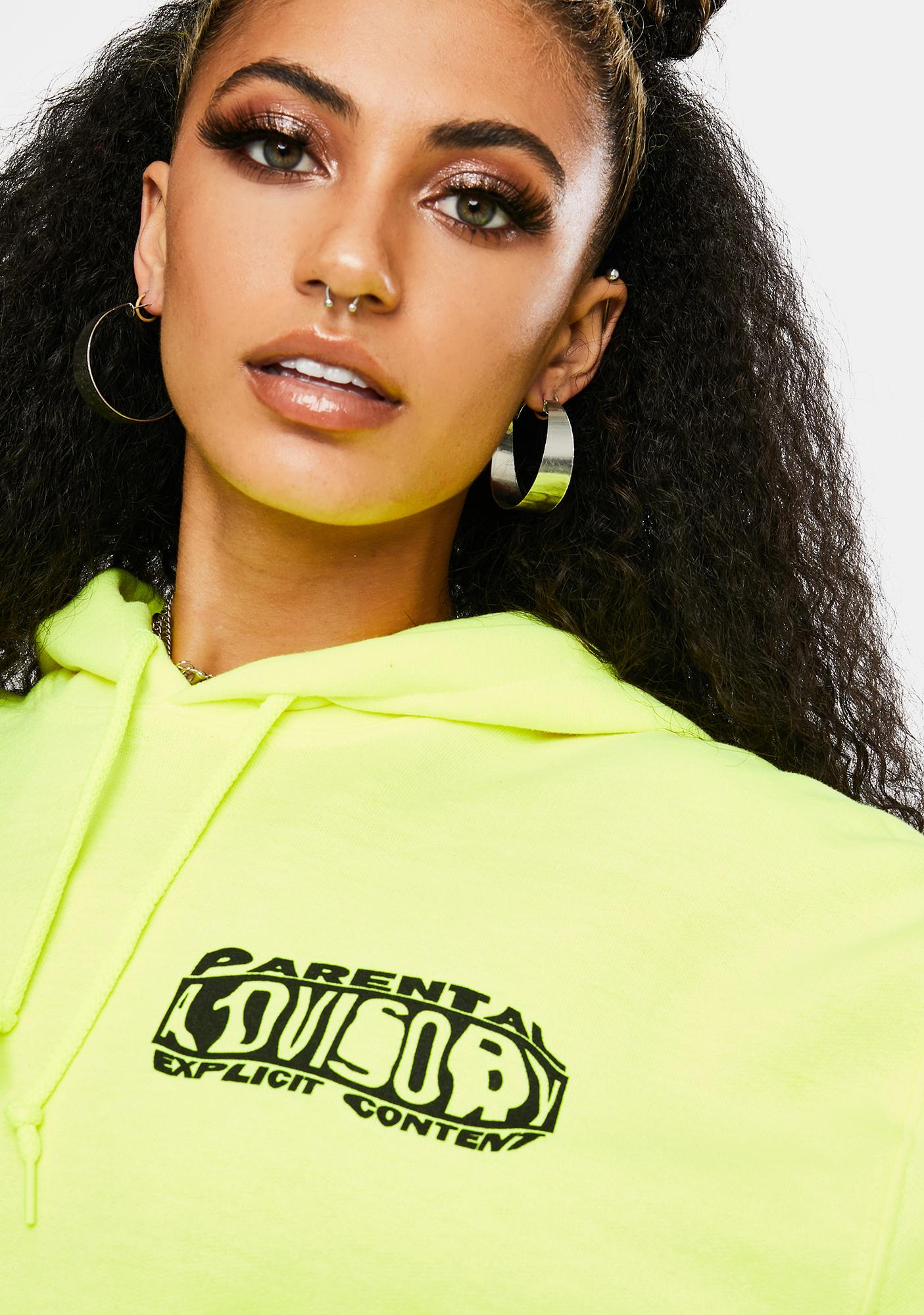 MOODSWINGS Explicit Content Graphic Hoodie
