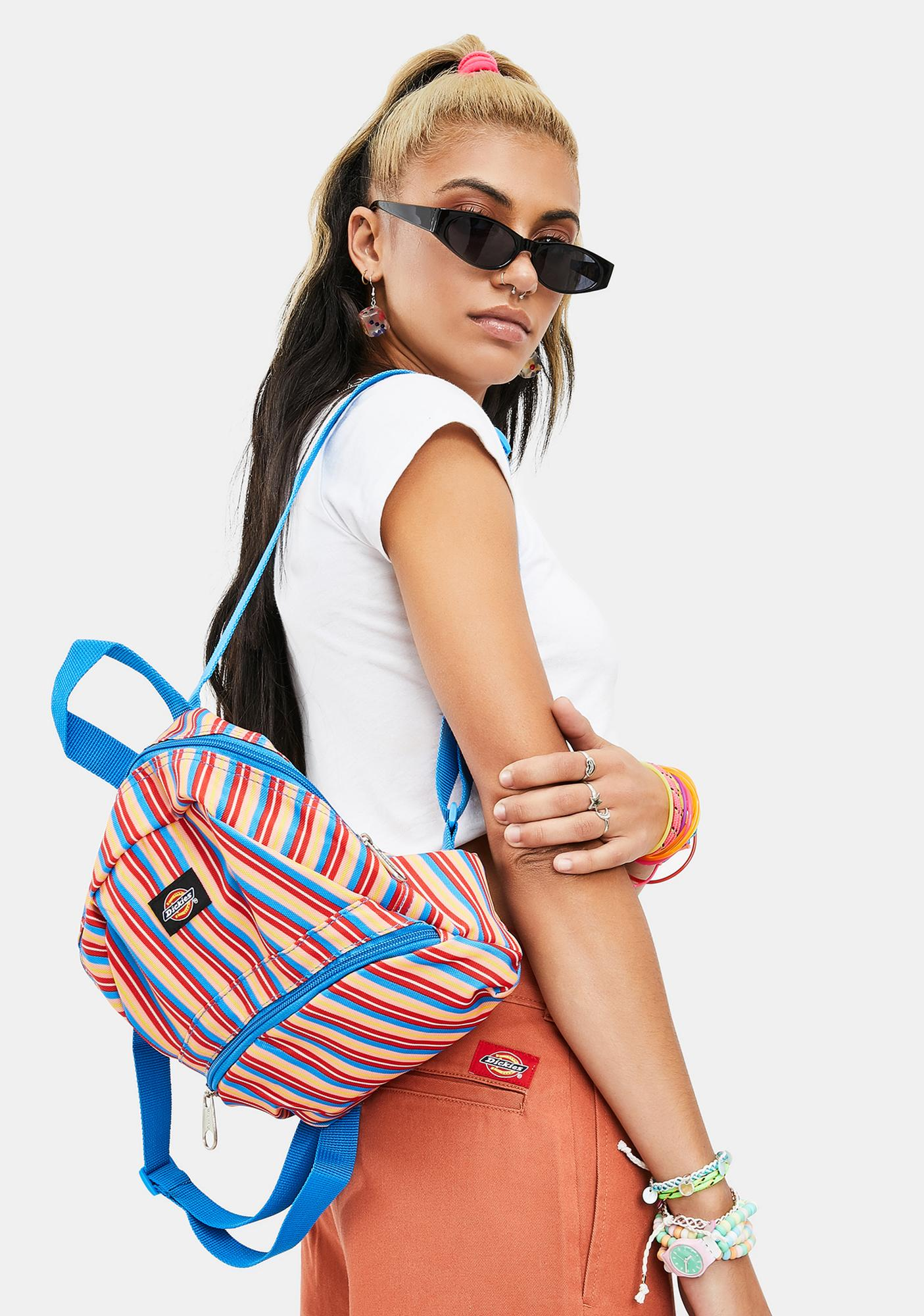 Dickies Multi Stripe Mini Backpack
