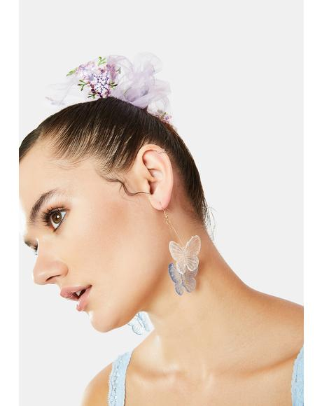 Blazed Beauty Butterfly Earrings