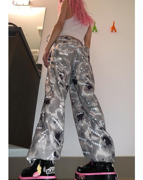 Zodiac Tie Dye Jogger Sweatpants