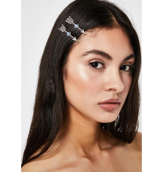 Pierce Your Soul Arrow Hair Clips