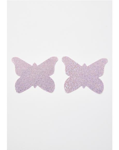 Sparkly Butterfly Pasties