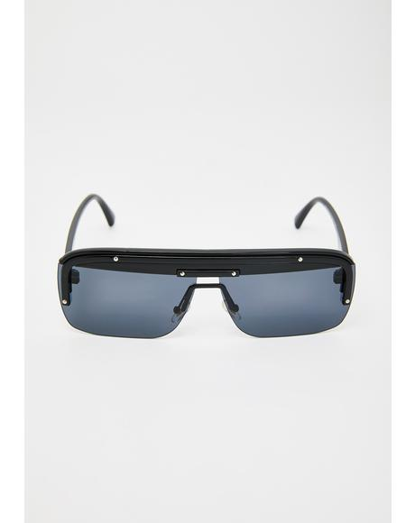 World Stop Aviator Sunglasses
