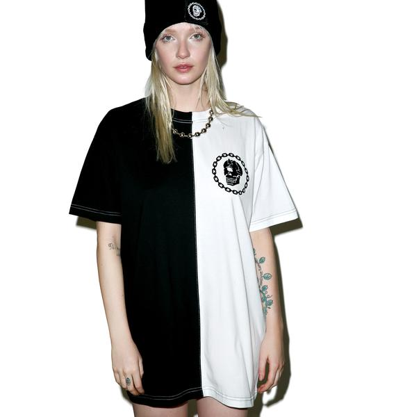 Long Clothing x Mishka Chain Two Tone Tee