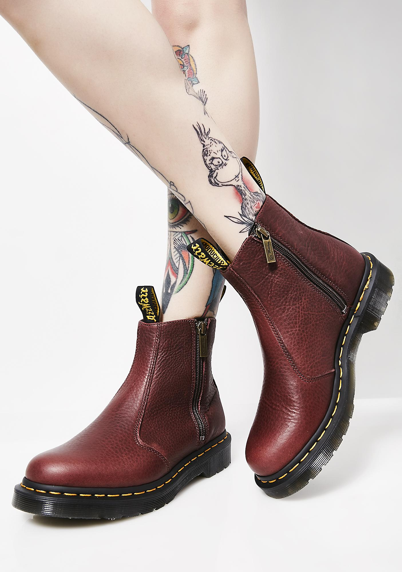 Dr. Martens 2976 Zip Ankle Boots