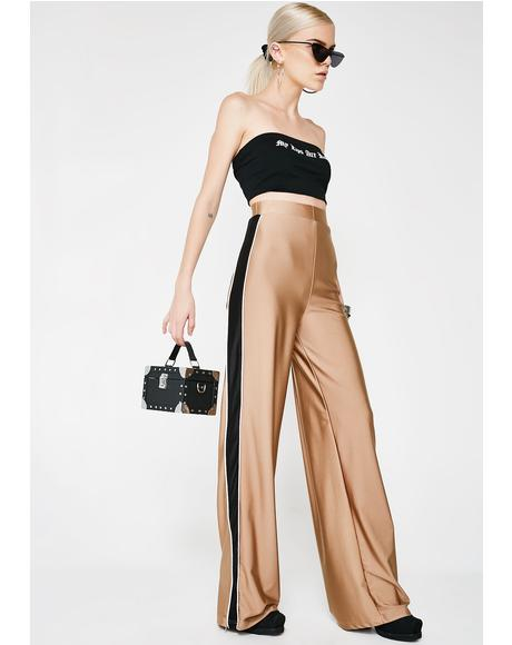 Desert Slave To The Bass High Waist Pants