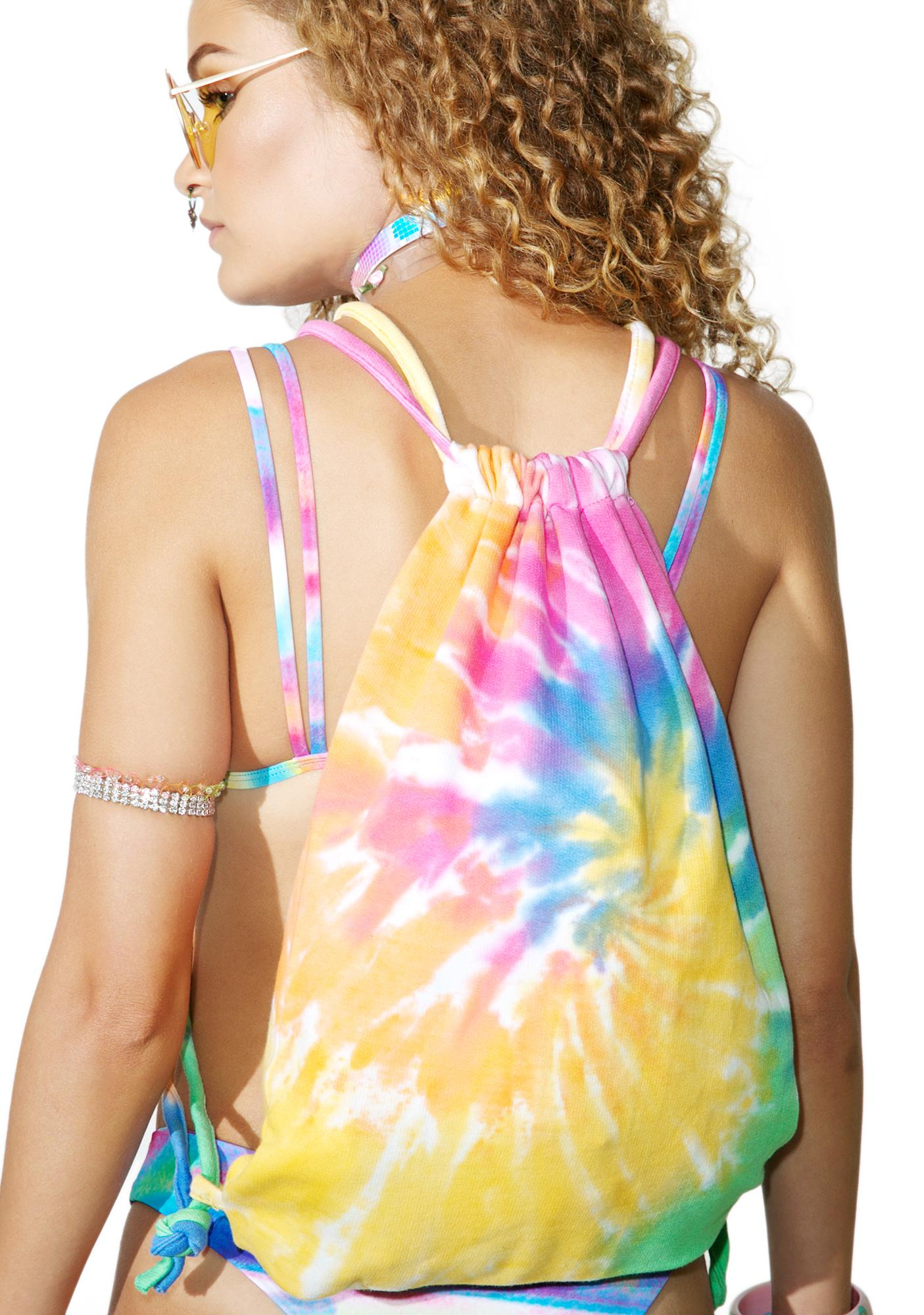 Radical Rainbow Tie Dye Backpack