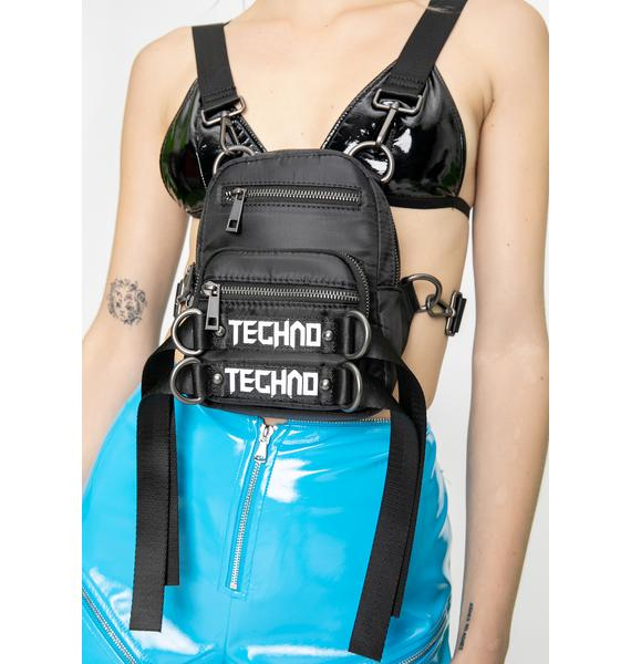 Club Exx Techno Time Utility Backpack