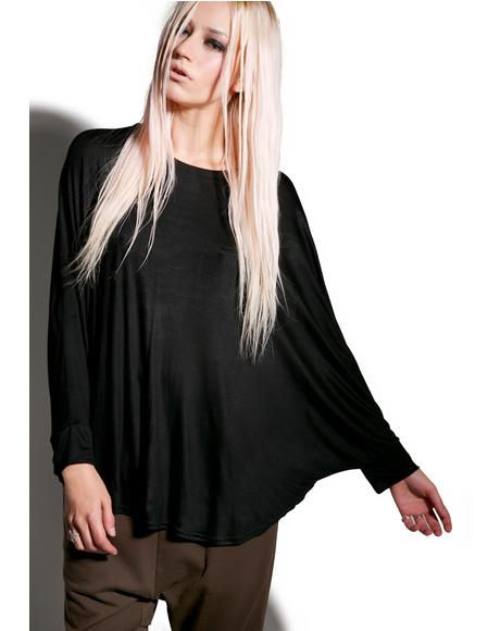 Can't Tell Me Nothin' Batwing Top
