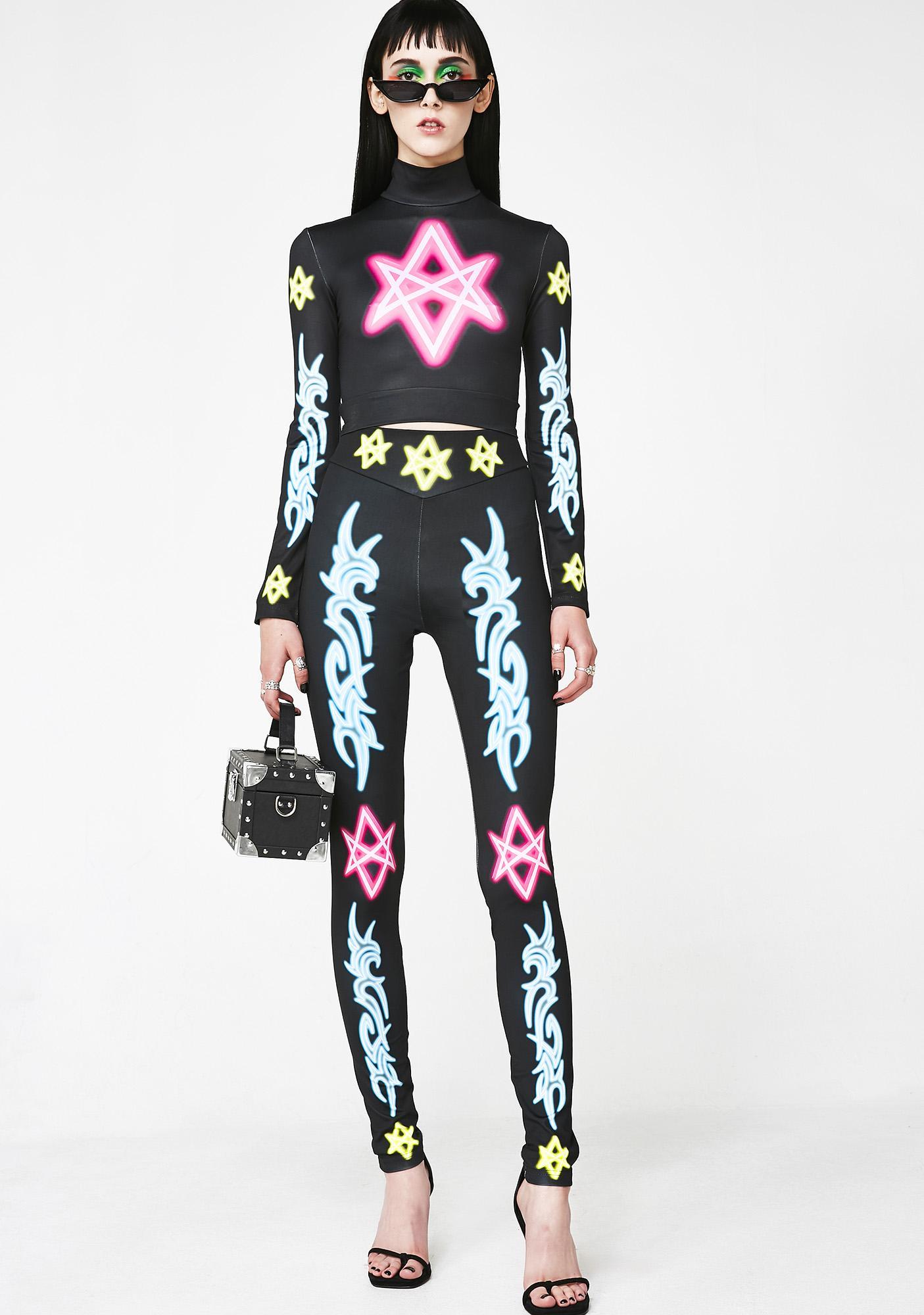 Long Clothing x Nympha Sexagram Leggings