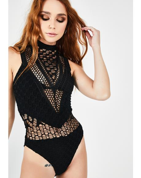 Authentic Bliss Fishnet Bodysuit