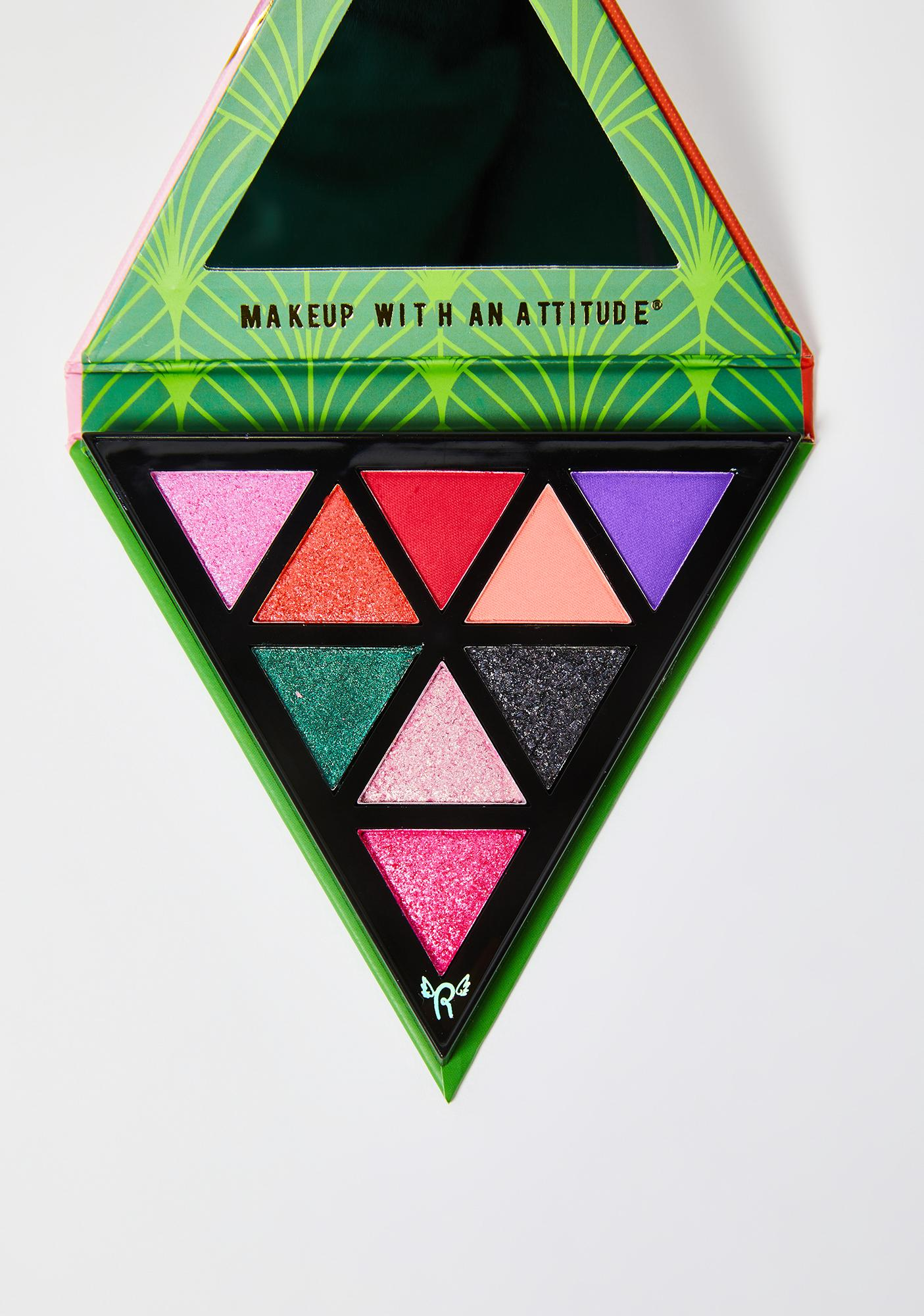 Rude Cosmetics Hippie Doll The 70's Eyeshadow Palette