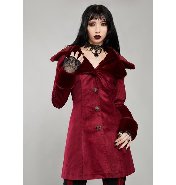 Widow Immortal Covenant Velvet Coat