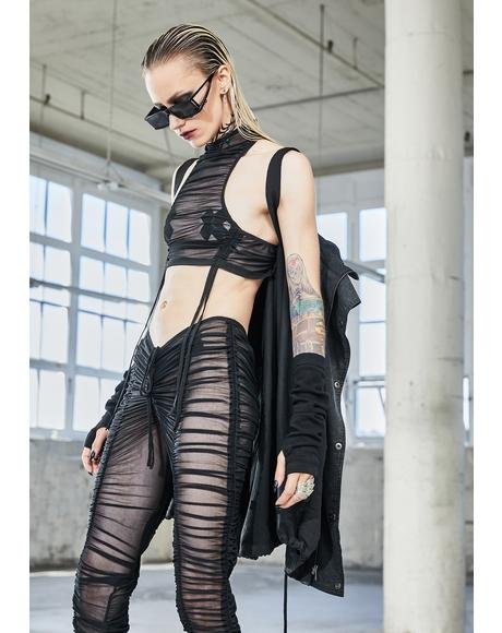 Bassline Sheer Crop Top