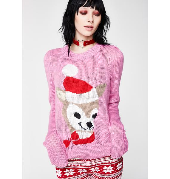 Wildfox Couture Prancer Lou Sweater