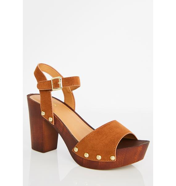 Valley Of The Dolls Platform Sandals